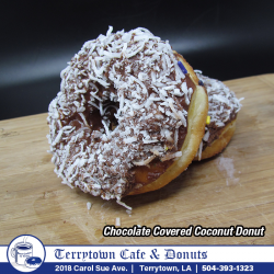 Donut_Chocolate_Covered_Coconut_PNG