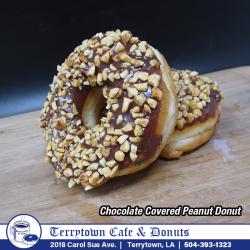 Donut_Chocolate_Covered_Peanut_PNG