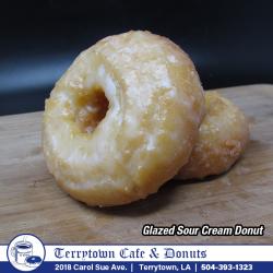 Donut_Glazed_Sour_Cream_PNG