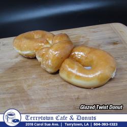 Donut_Glazed_Twist_PNG