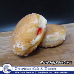 Filled_Donut_Glazed_Jelly_PNG