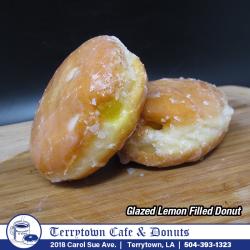 Filled_Donut_Glazed_Lemon_PNG
