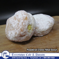 Filled_Donut_Powdered_Creme_PNG